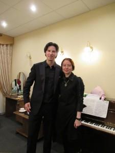 Daniel Muller-Schott and Julia Kalashnikova.17.04.2018.Kazan